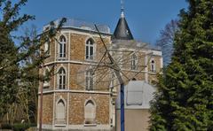 Stock Photo of France, the Parc aux Etoiles in Triel sur Seine