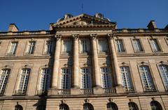 France, Bas Rhin, Le Palais Rohan in Strasbourg Stock Photos