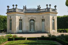 Marie Antoinette estate in the parc of Versailles Palace - stock photo