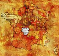Limousin - stock illustration