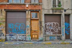 Belgium, picturesque city of Brussels Stock Photos