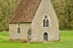 Normandie, the picturesque village of Saint Ceneri le Gerei - stock photo
