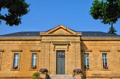 perigord, law court of Sarlat la Caneda in Dordogne - stock photo
