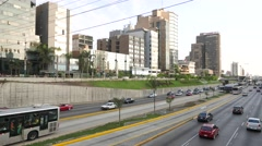 San Isidro District, Lima, Peru - stock footage