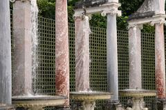 France, Colonnade Grove in Versailles Palace - stock photo