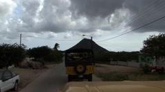 Off Road Cars Aruba - stock footage