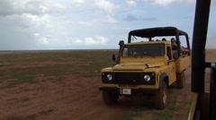 Stock Video Footage of Aruba off road car