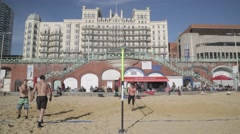 Brighton Volley Ball | HD 1080 - stock footage