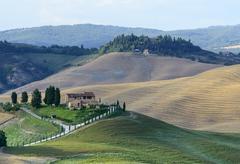 Crete Senesi (Tuscany, Italy) - stock photo