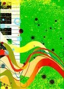 Jazz Musical Background Piirros
