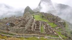 Stock Video Footage of Machu Picchu, Cusco Region, Urubamba Province, Machupicchu District, Peru