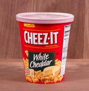 Cheez-It crackers Stock Photos