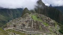 Machu Picchu, Cusco Region, Urubamba Province, Machupicchu District, Peru Stock Footage