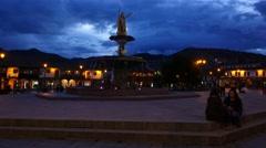 Stock Video Footage of Plaza De Armas, Cusco, Peru