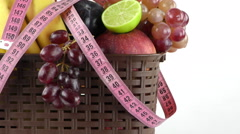 Fruits Composition Stock Footage