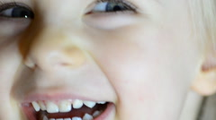 Baby Girl Laughing and Having fun at kindergarten. Stock Footage