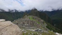 Machu Picchu, Cusco Region, Urubamba Province, Machupicchu District, Peru Stock Footage