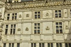 Stock Photo of renaissance castle of Blois in Loir et Cher