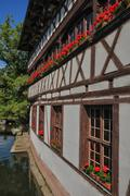 Stock Photo of Alsace, old and historical district in Strasbourg