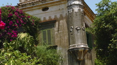 Taormina - Italian Villa Stock Footage