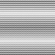 Stock Illustration of Wave gray gradient background, seamless pattern. Vector