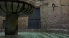 Sant felip neri barcelona Stock Footage