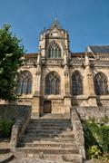 Stock Photo of France, historical church of Triel sur Seine