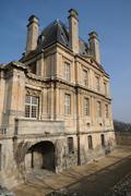 Stock Photo of France, castle of Maisons Laffitte