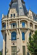 old post office of Chartres in Eure et Loir - stock photo
