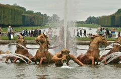 Stock Photo of France, Apollo fountain in the Versailles Palace park