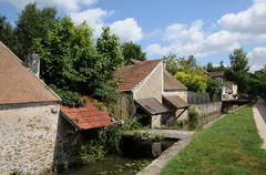 Stock Photo of France, the picturesque village of Chevreuse