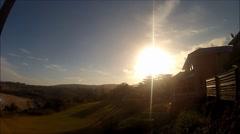 Kiama sunset Time Lapse Stock Footage