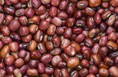 Red Beans Background - stock photo