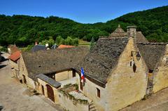 Stock Photo of France, picturesque village of Saint Amand de Coly