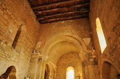 France, Urval church in Dordogne Stock Photos