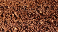 Red soil Stock Footage