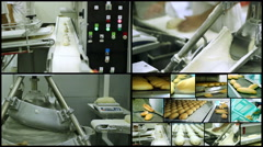 Municipal Bread Factory Stock Footage