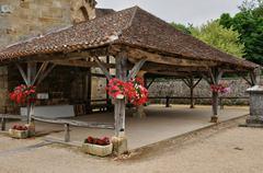 France, picturesque village of Saint Jean de Cole - stock photo