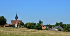 Stock Photo of France, village of Cherence in Val d'Oise