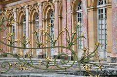 France, le Grand Trianon in Marie Antoinette estate - stock photo