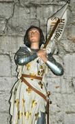 France, Cadouin abbey in Dordogne Stock Photos