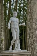 Stock Photo of France, statue in the Versailles Palace park