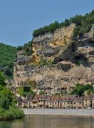 Stock Photo of France, the picturesque village of La Roque Gageac in Dordogne