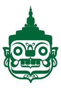 GREEN GIANT - stock illustration