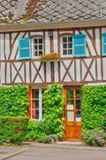 France, picturesque village of Ry in Seine Maritime - stock photo