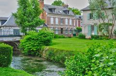 Stock Photo of France, picturesque village of Ry in Seine Maritime
