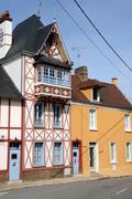Stock Photo of France, the village of Saint Martin la Garenne