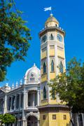 Moorish Clock Tower in Guayaquil - stock photo