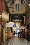 Stock Photo of Passage Jouffroy in Paris