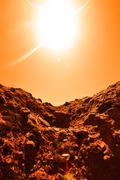 Space exploration - stock photo